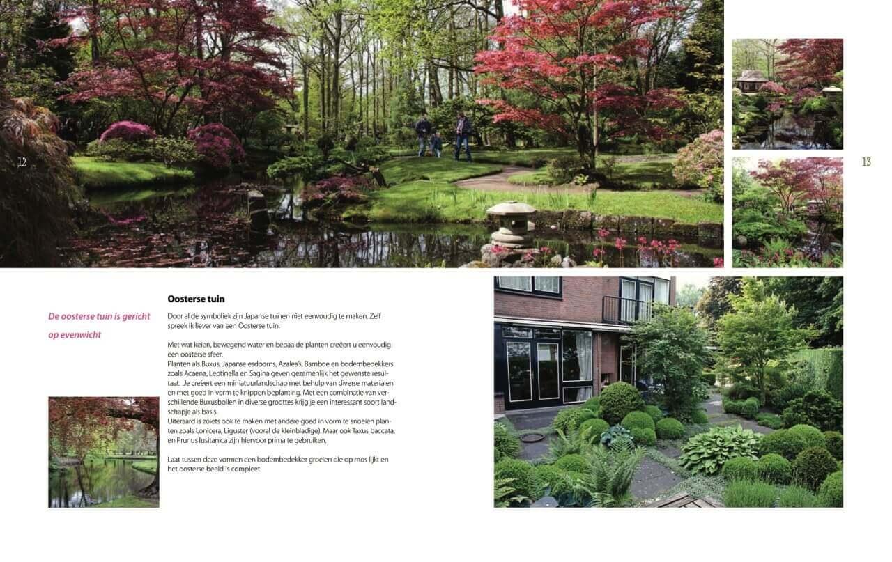 Romantische Tuin Plantwijzer voorbeeld pagina